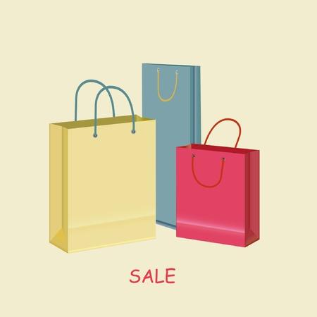 Sale bags  Illustration