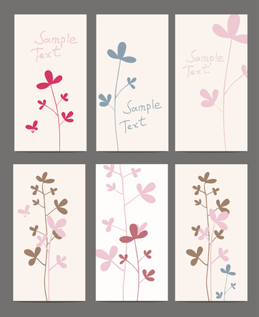 summer flowers cotton Vector