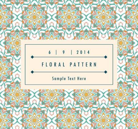 east Arabic pattern geometric background