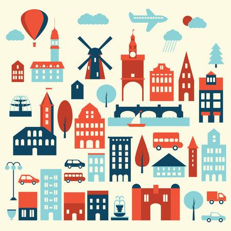 europe: Europe city icon