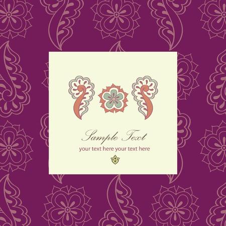 rangoli: indian tribal henna pattern design  mehendi background