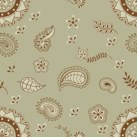 indian tribal henna pattern design  mehendi background