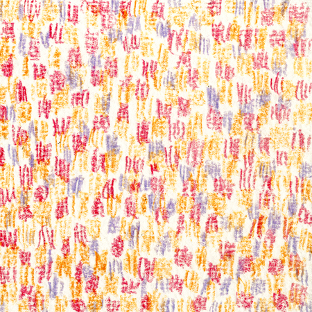 Purple-red-orange  texture. Vertical strokes with a colored pencil. Drawing by hand.  Background for a web page, abstraction, fabric pattern. Imagens