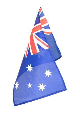 Australian flag anzac day remembrance australia day ceremonies Stok Fotoğraf