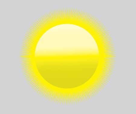 high temperatures: sun symbol of global warming, high temperatures