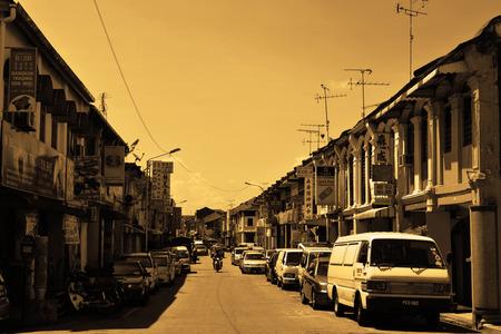 penang: Street of Penang Editorial