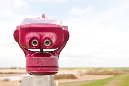 keek: Public binoculars at the coast of Germany