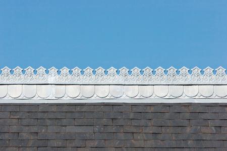 margen: Margen barroco en el techo