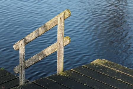 balustrades: Balustrades on the pier margin
