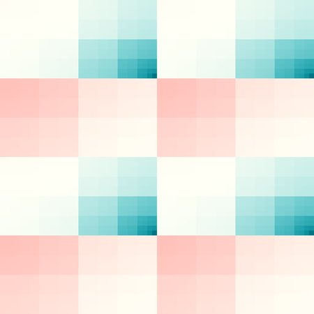 bed sheets: Seamless texture with teal and pink squares pattern. For print on textiles, tablecloths, bed sheets, wrapping paper, wallfloor tiles for kitchenbathroomhall, layouts, mobile or desktop background. Stock Photo