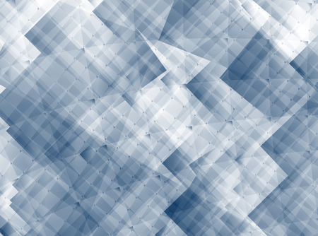 Grey abstract background with squares and a random texture. For industry, technology, engineering and computer based designs, projects, pamphlets, brochures, desktop or mobile phone background etc. Stock Photo