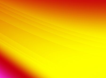 Bright red orange yellow abstract fractal art. Modern background illustration with gradients and subtle lines in vivid colors. Creative graphic template. Simple energetic elegant style. Design base.