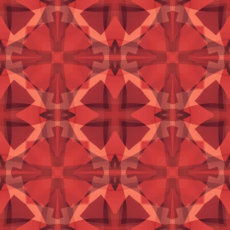 Red abstract texture. Detailed background illustration. Structured seamless tile. Textile print pattern. Home decor fabric design sample. Tileable motif for cushions, tablecloths, bed covers, drapes