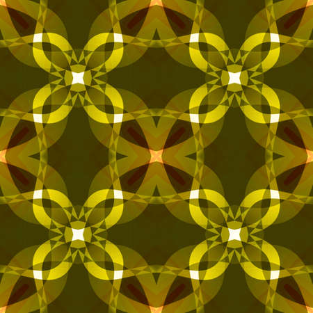 Dark yellow modern abstract texture. Detailed background illustration. Seamless tile. Home decor fabric design sample. Textile print pattern. Tileable motif for pillows, cushions, tablecloths, drapes Stock Illustration - 88775328