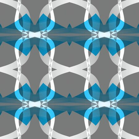 Grey blue white modern abstract texture. Home decor fabric design sample. Simple background illustration. Textile print pattern. Seamless tile. Tileable motif for pillows, cushions, tablecloths etc.