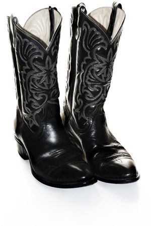 Dress Boots Isolated