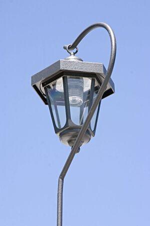 Solar Lantern energizing in the sun