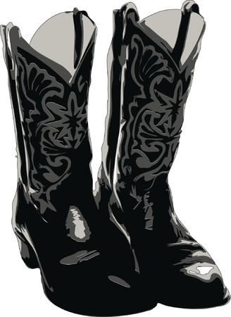 Cowboy Boots Vector