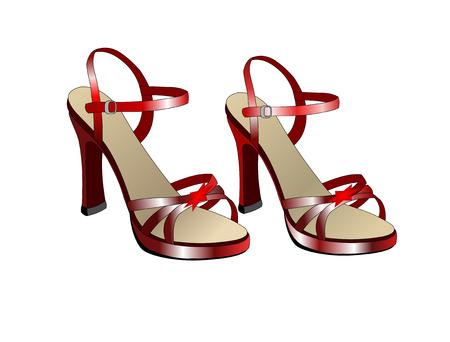 sandles: Heeled ladies sandles for evening wear