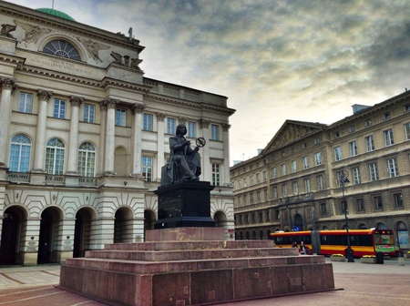 copernicus: Copernicus Society of science and technology in Warsaw Poland