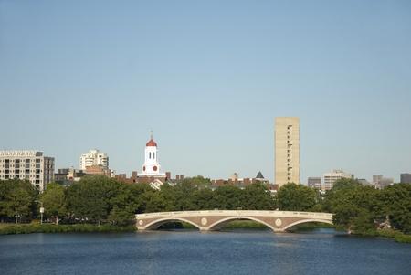 massachussets: Bridge over Charles River in Boston, Massachussets