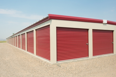 Storage unit at a storage facility. photo