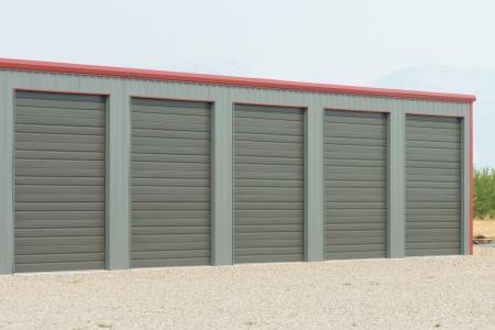storage unit: Storage unit at a storage facility.