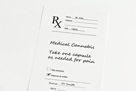hypothetical: Hypothetical prescription for medical marijuana.