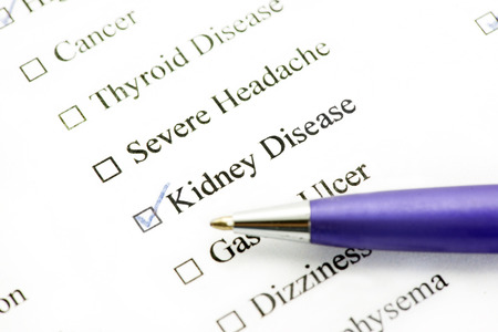 urethral: Kidney disease checked on medical history.