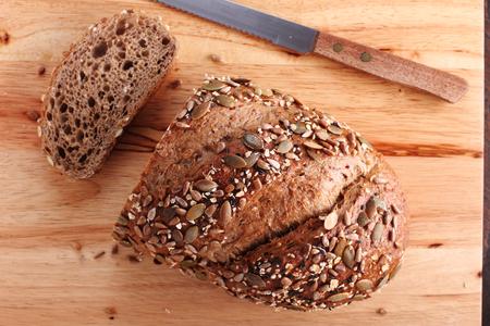 rye bread: healthy cereal rye bread
