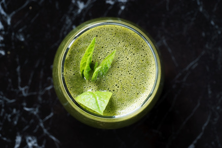 fruits juice: Fresh green juice smoothie made with organic green fruits and vegetables