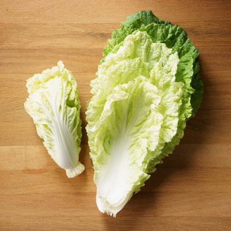 napa: napa cabbage, Chinese cabbage, on wooden background