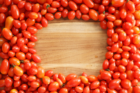 lycopene: Red tomatoes background Stock Photo