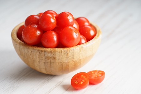 lycopene: fresh red tomatoes