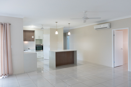New kitchen in new modern home Stock Photo