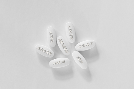 Pills or drugs to be used for many different emotions