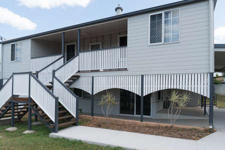 New carport / garage on fully renovated Queenslander style high-set house