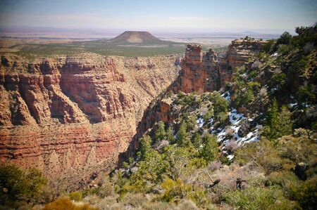 グランドキャニオン国立公園アリゾナ州 写真素材