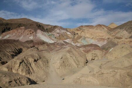 アーティスト パレット死の谷デスバレー カリフォルニア