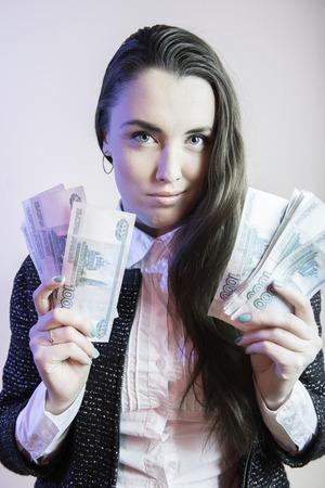 sexy businesswoman: Businesswoman portrait, sexy businesswoman