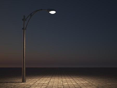 Straßenleuchte Standard-Bild - 46090526