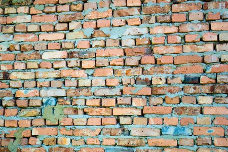 A brick wall that can be used as a background