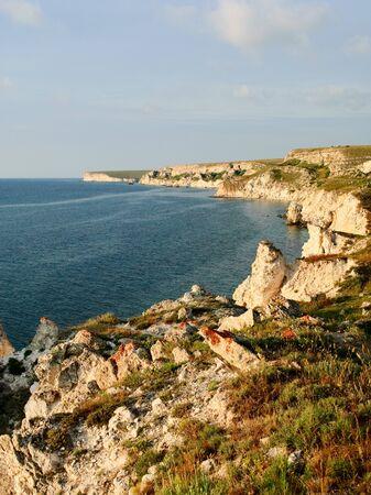 beautiful sea landscape of the black sea