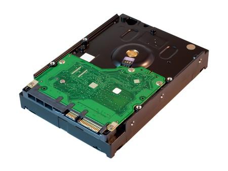Hard disk drive. HDD.  photo