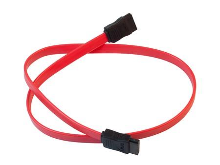 ata: Serial-ATA cable.  Stock Photo