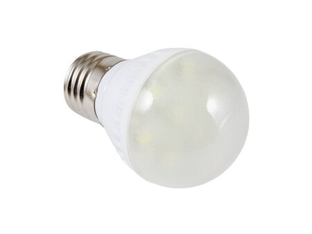 Energy saving SMD LED light bulb.  Stock Photo