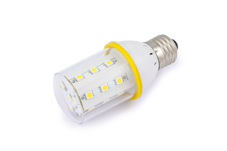 Energy saving SMD LED light bulb E27.