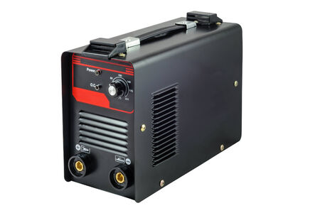 Inverter welding machine  Isolated on white background with clipping path