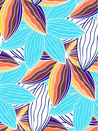 Seamless vector background. EPS 10 endless backdrop for pattern fills, textile, decorative paper.
