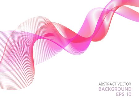 winding: Futuristic wavy background of pink shades.